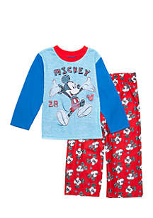 Toddler Boys Mickey Mouse Pajama Set