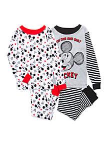 Toddler Boys Mickey Mouse Pajama Set
