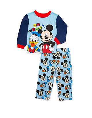 Disney Boys Mickey Mouse 2 Piece Fleece Set