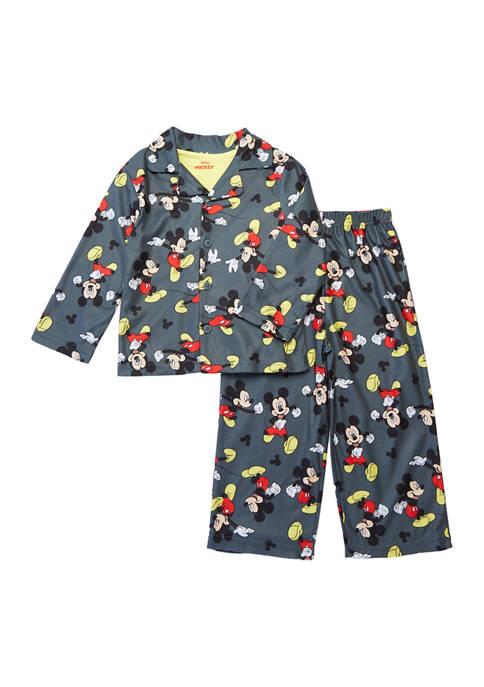 Disney® Junior™ Toddler Boys Mickey Mouse 2-Piece Pajama