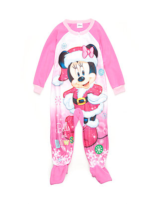 f48880cb0 Disney® Minnie Mouse Footed Pajama Toddler Girls   belk