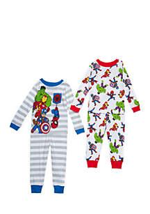 Toddler Boys Avengers Pajama Set
