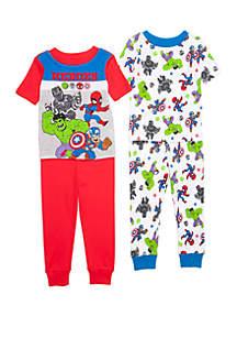 Marvel™ The Avengers™ Toddler Boys Avengers 4 Piece Pajama Set
