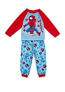 Marvel™ Super Hero Adventures Toddler Boys Spider Man 2 Piece Pajama Set