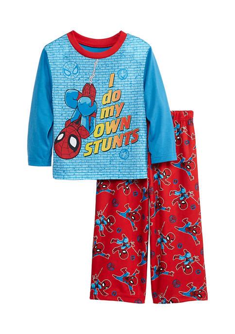 Toddler Boys Stunts 2-Piece Pajama Set