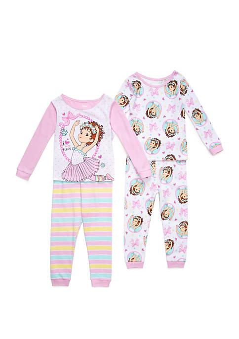 Disney® Junior™ Toddler Girls Fancy Nancy 4 Piece