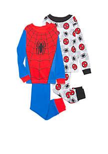 Toddler Boys Spider-Man Pajama Set