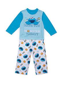 Sesame Street Toddler Boys Sesame Street 2 Piece Pajama Set