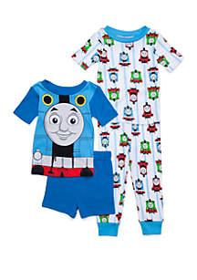 Thomas & Friends™ Toddler Boys Thomas the Train 4 Piece Pajama Set