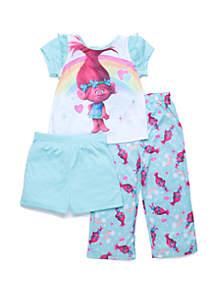 Toddler Girls Trolls Poppy Pajama Set