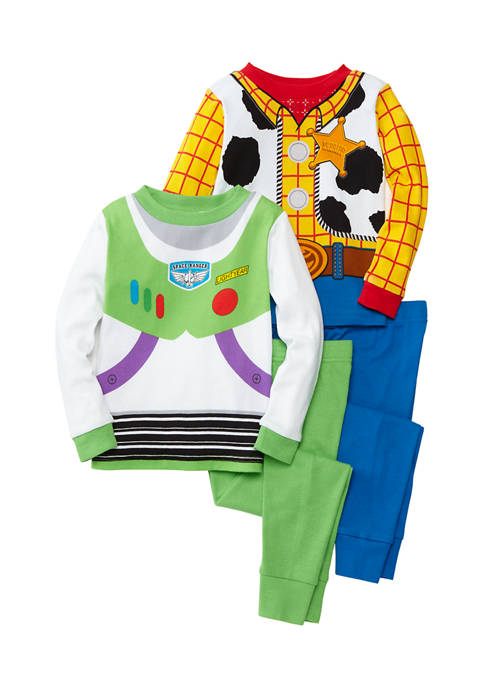 Disney® Pixar™ Toy Story Toddler Boys 4-Piece Pajama