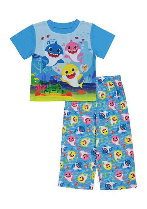 Pinkfong Baby Shark Toddler Boys 2 Piece Baby