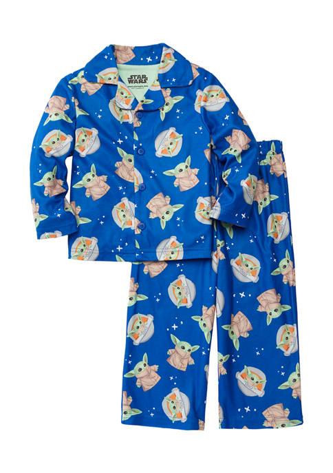 AME Toddler Boys Baby Yoda 2-Piece Pajama Set