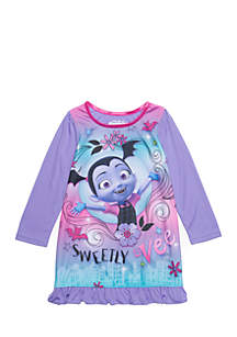 Toddler Girls Vamprinia Pajama Top