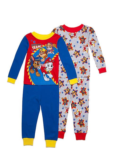a0d88c7eb8 Nickelodeon™ Paw Patrol  Pawesome Team  4-Piece Cotton Pajamas Set ...
