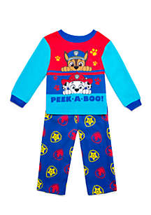 Toddler Boys Paw Patrol Fleece Pajama Set
