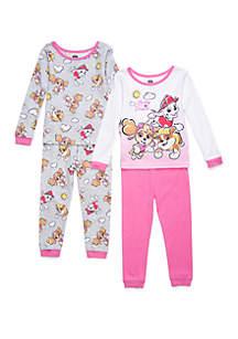 Nickelodeon™ Toddler Girls Paw Patrol 4 Piece Pajama Set