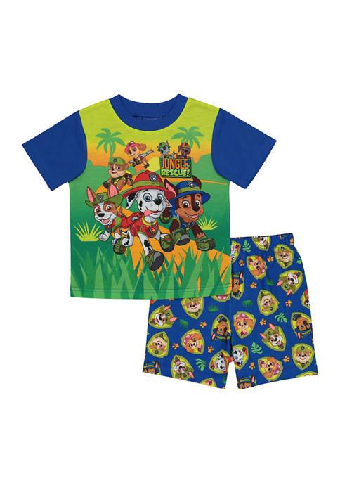 Toddler Boys Paw Patrol 2-Piece Pajama Set