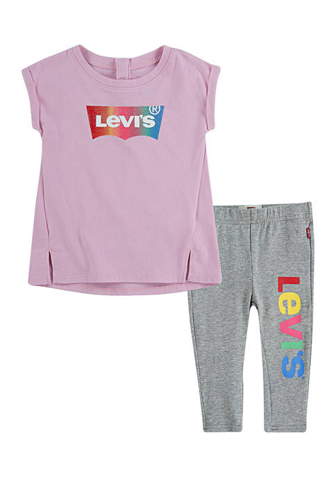 Levi's® Baby Girls Tunic Legging Set