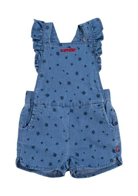 Levi's® Baby Girls Denim Romper