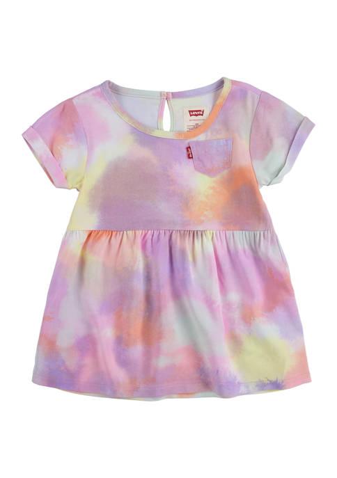 Levi's® Baby Girls Short Sleeve Printed Dress