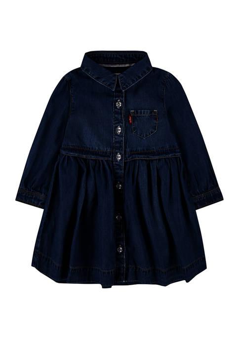 Levi's® Baby Girls Denim Woven Dress