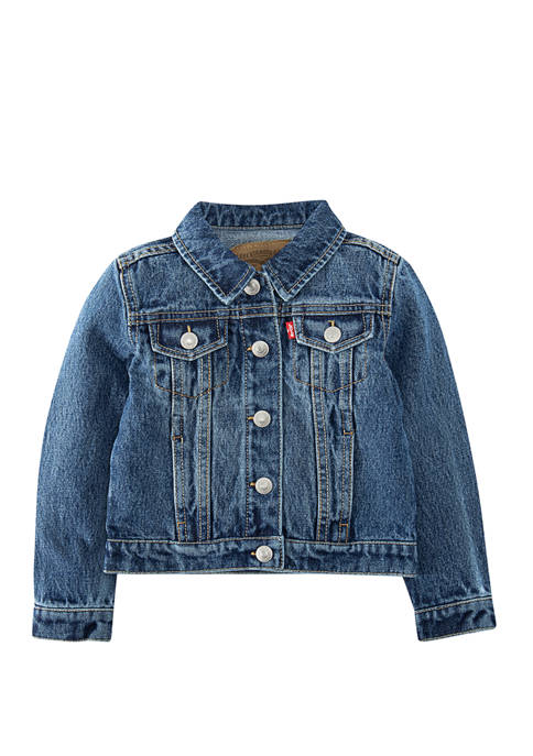 Levi's® Toddler Girls Denim Trucker Jacket