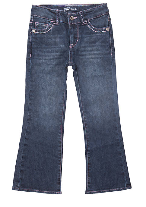 Levi's® Boot Cut Denim Blue Jeans For Toddler
