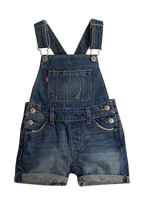 Levi's® Toddler Girls Shortall