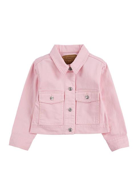Levi's® Toddler Girls Soft Light Chore Tracker Coat