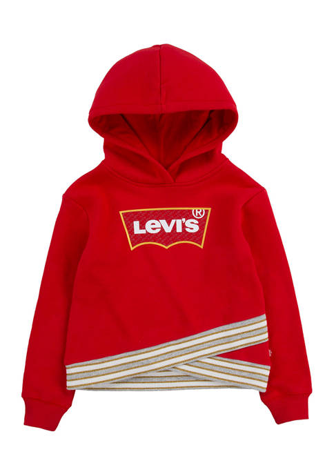 Levi's® Toddler Girls Crossover Graphic Hoodie