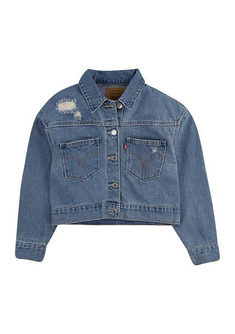 Levi's® Toddler Girls Oversized Trucker Jacket
