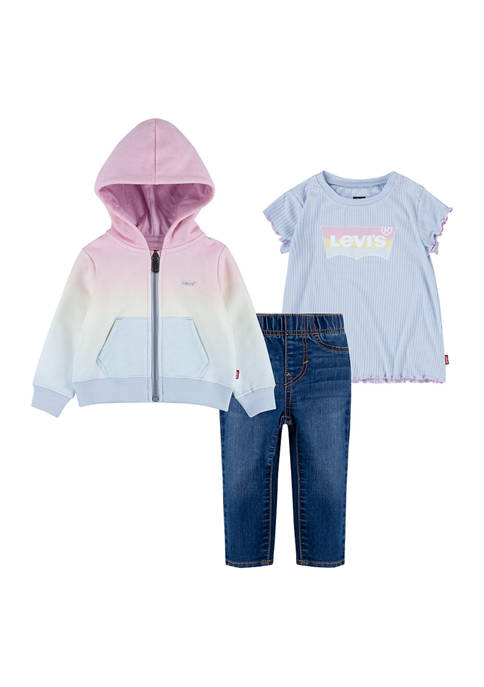Levi's® Toddler Girls Tie Dye Set