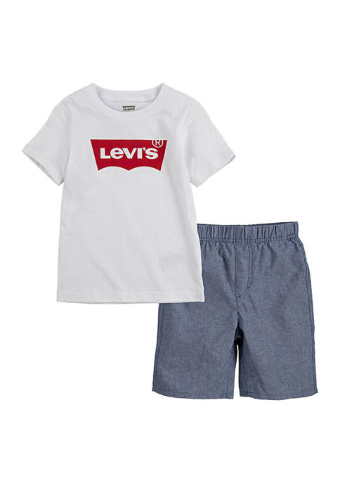 Levi's® Baby Boys Batwing Logo Graphic T-Shirt and
