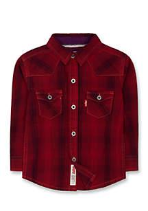 Barstown Western Plaid Shirt for Boys