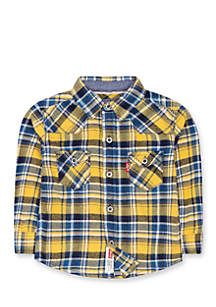 Barstown Western Plaid Shirt for Boys