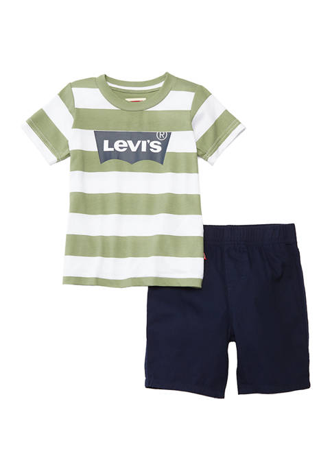 Levi's® Baby Boys Inside Out T-Shirt with Short