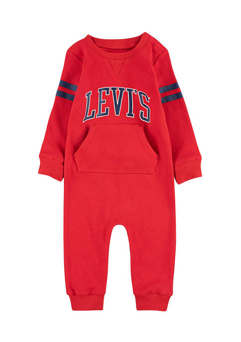 Levi's® Baby Boys Collegiate Knit One Piece Coverall