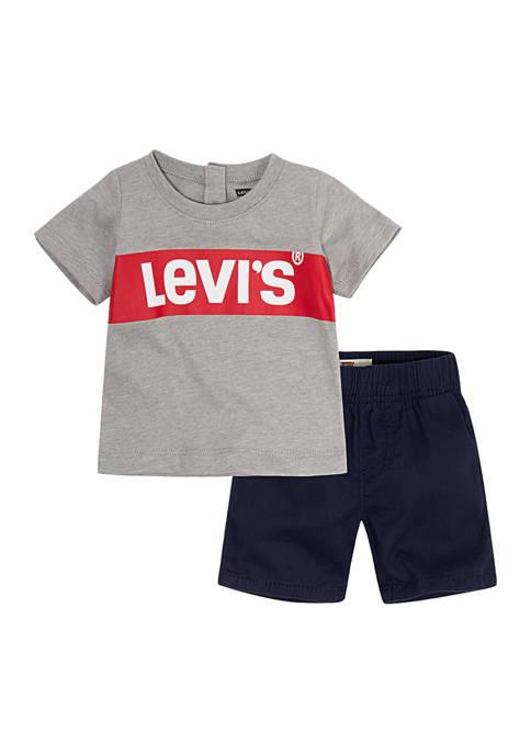 Levi's® Toddler Boys Short Set