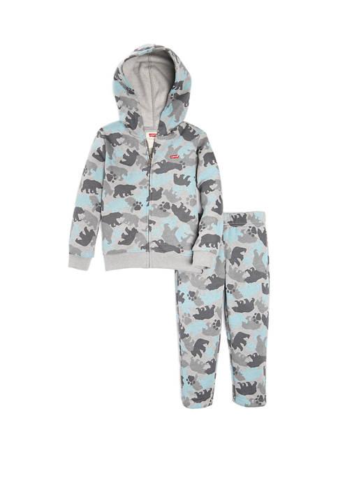 Levi's® Toddler Boys Zip Hoodie Set