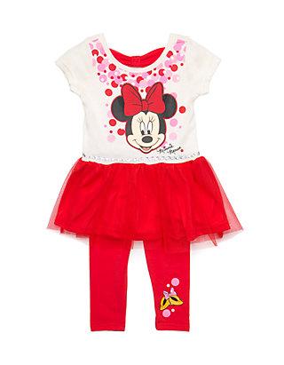 ee7f62a17eb24 Disney® Infant Girls 2-Piece Minnie Mouse Legging Set | belk