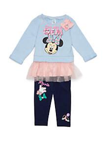 Baby Girls Minnie Mouse Legging Set