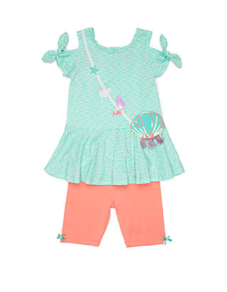 605ef9d20 Nannette Baby Girls Mermaid Shell Short Set | belk