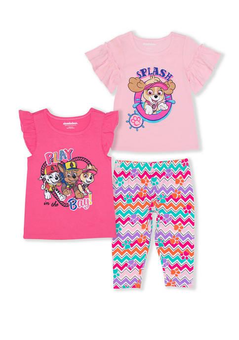 Toddler Girls 3 Piece Paw Patrol Set