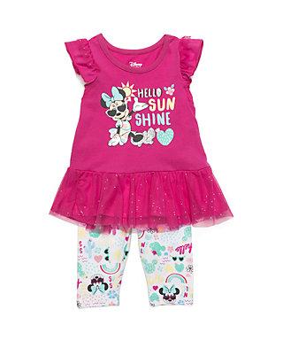 6dbe16eb4 Disney® Baby Girls Minnie Mouse Sunshine Capri Set   belk