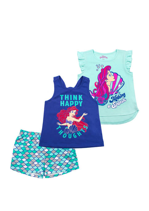 Disney® Princess Toddler Girls Ariel 3 Piece Set