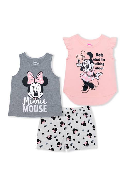 Disney® Junior™ Toddler Girls Minnie Mouse 3 Piece