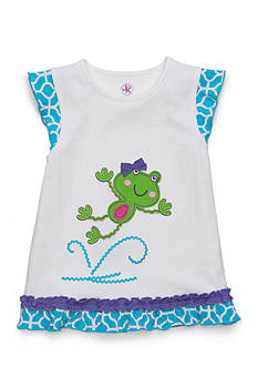 J. Khaki® Frog Tee Toddler Girls