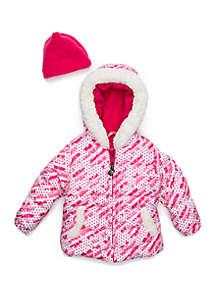 Baby Girls Snowflake Jacket
