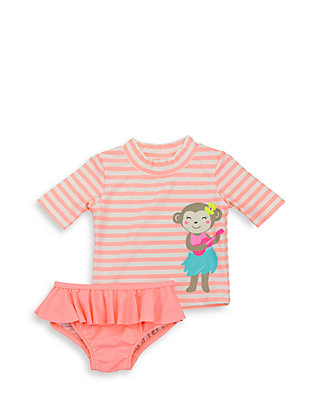 59e155e8e9 Carter's® 2-Piece Monkey Rashguard Set | belk